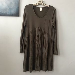 Dresses & Skirts - olive green dress